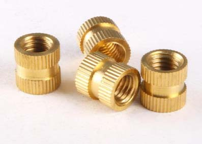 embedded copper nuts