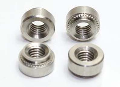 Stainless steel embedded nuts