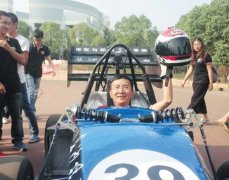University Student Manufacturing China's First 3D Printed Metal Racing