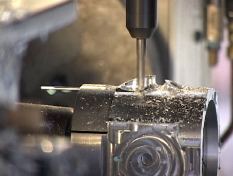 Monitoring and adjustment during CNC machining