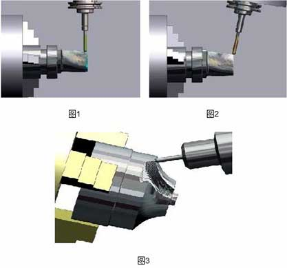 CAM software realizes turning and milling combined machining impeller blades