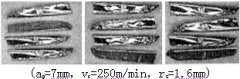 Deformation of chips during milling of titanium alloy