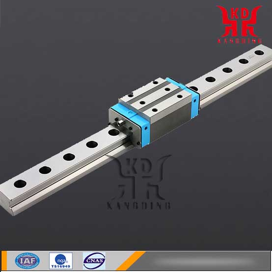 Machining precision linear guide
